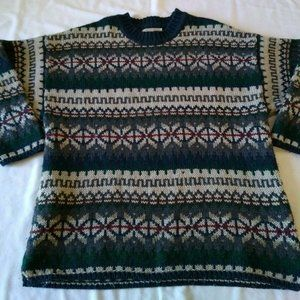 Vintage Abercrombie & Fitch The Big Wool Sweater L